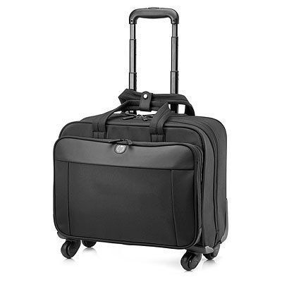 HP Business 4 Wheel Roller Case - Notebook carrying case - 17.3'' - up to 17.3'' - for EliteBook Folio 1040 G1, ElitePad 1000 G2, ProBook 45X G1, 470 G1, 650 G1, ZBook 15, 17 by HP Inc.
