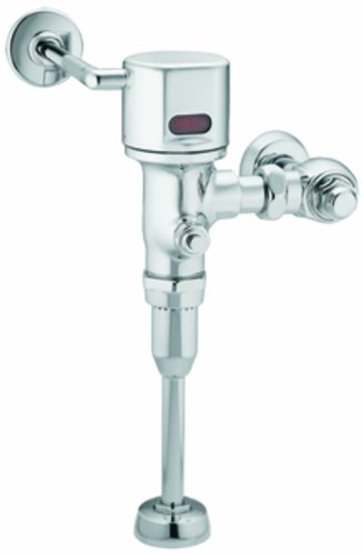 r 3/4-Inch Urinal AC Powered Exposed Sensor-Operated Electronic Flush Valve 1.0 gpf, Chrome ()