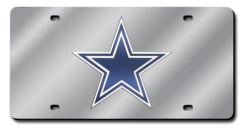 Rico Dallas Cowboys Laser Tag, (Nfl Laser Cut License Plate)