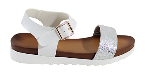 By Shoes Sandali Shoes By Donna Donna Silver Sandali aB1gZ