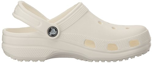 Classic Adulto Zueco Crocs white Weiß Unisex Awfqgqx