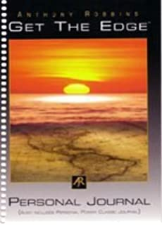 Ultimate edge personal journal anthony robbins amazon books get the edge personal journal get the edge personal journal anthony robbins fandeluxe Images