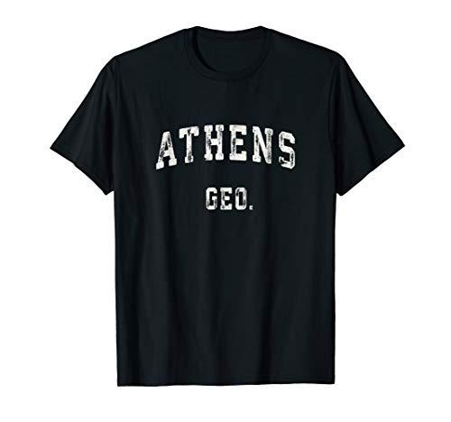 Athens Georgia GA T Shirt Vintage Sports Design ()