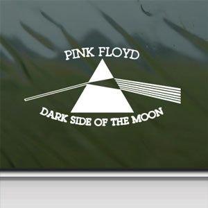 Pink floyd white sticker decal dark side of the moon white for Dark side of the moon mural
