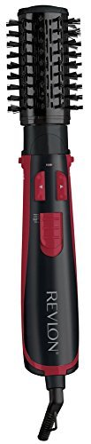 Revlon Perfect Heat 2'' Tourmaline Ceramic Rotating Hot Air Styler Spin Brush Dryer RVHA6011 (Certified Refurbished) by Revlon