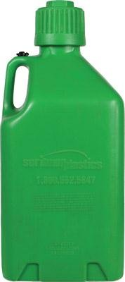 Scribner Plastics 2000GG Glow Green Utility Jug - 5 Gallon
