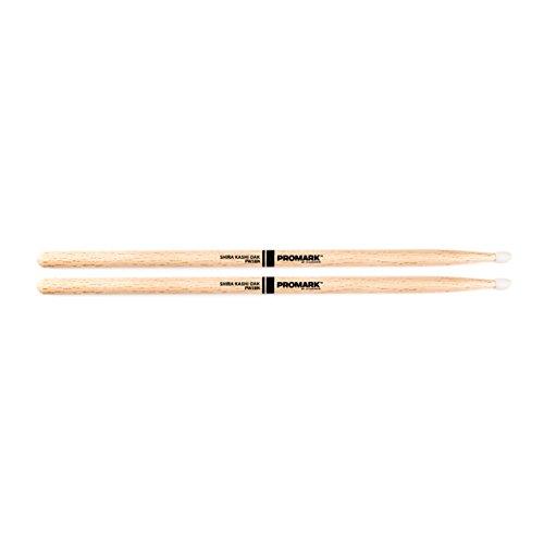 - Promark Japanese Shira Kashi White Oak 5B Nylon Single pair
