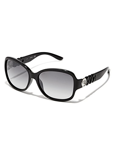 GUESS Factory Women's Round Chain-Temple - Driven Sunglasses
