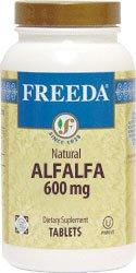 Freeda Kosher Alfalfa Concentrate 600 Mg. 100 TAB