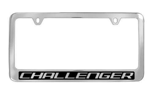 dodge-challenger-chrome-license-plate-frame