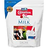 Carnation Instant Nonfat Dry Milk, 9.6 Ounce - 12 per case.