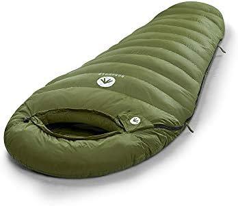 "Regular 82/"" x 30/"" Long 87/"" X 32/"" Easthills Outdoors Bison 650 15 degree down ultra lightweight 3 Season mummy sleeping bag for backpacking"