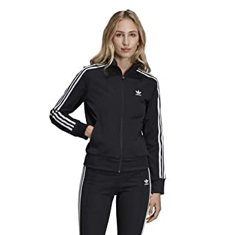 adidas Originals Track Top Black XL: Amazon.es: Ropa y ...