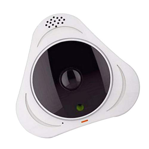 LOVIVER Mini Bi-directional Audio Communication Security Wi-fi 1.3MP Lens Camera - White from LOVIVER