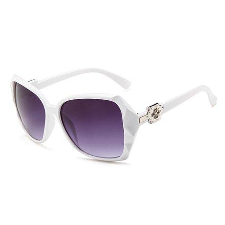 de sol Beige prismáticas Design Negro sol de tamaño de Mujer Mujer GGSSYY gran Brand Uv Gafas Fashion Mujer Gafas Gafas qwHnYTEXx