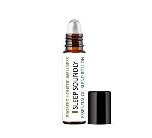 ProSeed I SLEEP SOUNDLY Essential Oil Roll On Blend   Ready to use   Deep Restful Sleep   Indulge in the Mystic Blend of Rose, Jasmine and Chamomile Essential Oils in Organic Jojoba oil   10 ml