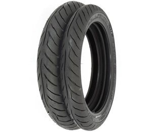 Tires Tubes and Rim Strips Compatible with Honda CB125S//175//200//72//77//350//360//400F CL175//200//360 CJ360 Shinko 712 Tire Set