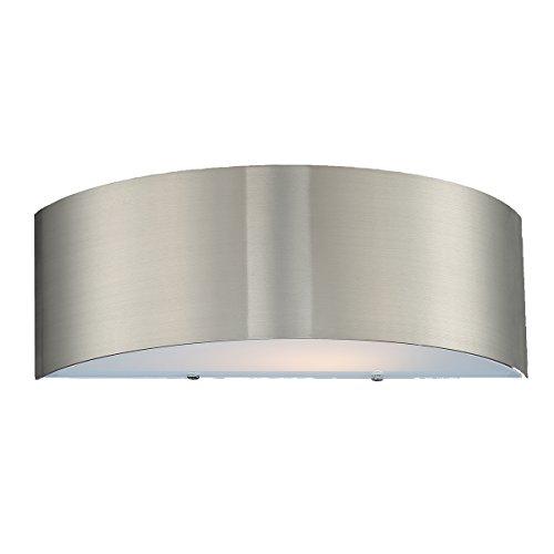 Eurofase 20374-037 Dervish 2-Light Sconce, Satin Nickel