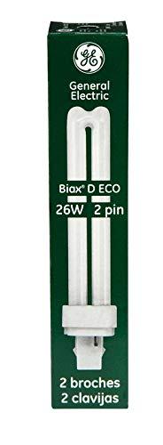 Ge 2 Pin Plug-In Bulb 6.700 In. T4 26 W 1460 Lumens, 1710 Lumens, Lumens 4100 K Bx