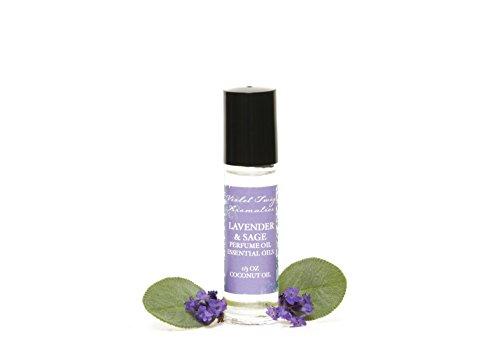 Natural Perfume - Lavender & Sage Perfume Oil - Essential Oil Perfume - Sage Essential Oil - Lavender Perfume - Essential Oils - Women's Perfume - Organic Perfume Oil - Lavender Aromatherapy