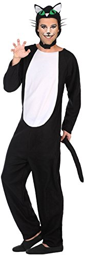 Atosa-38769 Disfraz Gato, Color Negro, XL (38769): Amazon.es ...