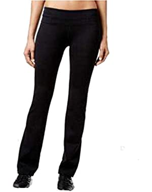 Calvin Klein Performance Bootleg Performance Pants-Black-X-Small