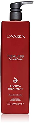 Lanza Hair Repair Leave - L'ANZA Healing Colorcare Color Preserving Trauma Treatment, 33.8 Fl Oz