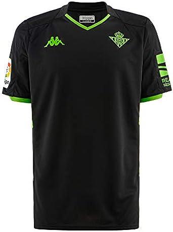 Kappa 2019 2020 Real Betis Away Football Soccer T Shirt Jersey Clothing Amazon Com
