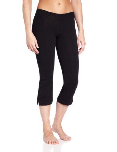 Capezio Women's Capri Pant,Black,Small