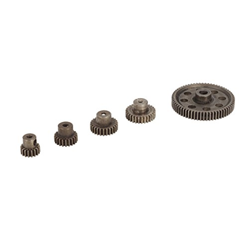 MagiDeal 11184 Steel Spur Diff Differential Main Gear Set RC Motor Pinion for HSP HPI