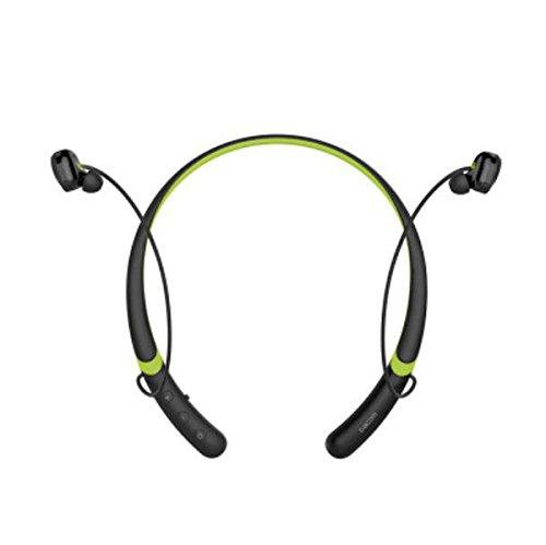 Mobile Bluetooth Action (DANDANJIE New Bluetooth 4.1 Headphones L02 Double Action Movement Bluetooth Headset Wireless Running Collar Noise Reduction Music Headband Neckband Hanging Headphones Bluetooth Headset)