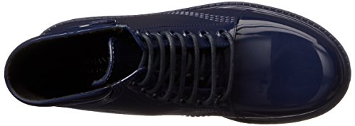 Armani Jeans Femmes Jellie Combat Boot Navy