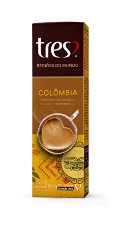 Cápsulas Espresso Colômbia Três Compatível