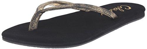 Oro Sandalo Infradito Da Donna Nias Cobian