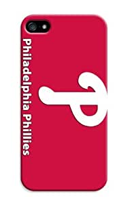 LarryToliver Design- Case With Hard Shell Cover for Customizable iphone 5/5s Sports Baseball Philadelphia Phillies by lolosakes