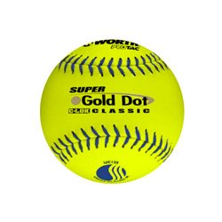 WorthT Super Gold Dot Classic 12 in. Slow-Pitch So
