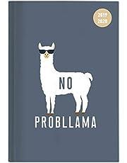 """Diario agenda scuola collegetimer """"Llama"""" 2019/2020 - Giornaliera - 352 pagine - 15x21 cm"""