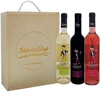 Caja Madera Mixta 3 Botellas Vino Latarce Saboreo 2018 D.O Toro | Botella Vino Tinto/Verdejo/Rosado | Producto Gourmet | Ideal para Regalo: Amazon.es: Alimentación y ...