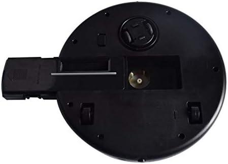 XXFFD Smart USB Rechargeable Balayer Propre Robot de Nettoyage Automatique Machine Aspirateur Forte Aspiration à Faible Bruit collecteur de poussière (Color : Black) Black