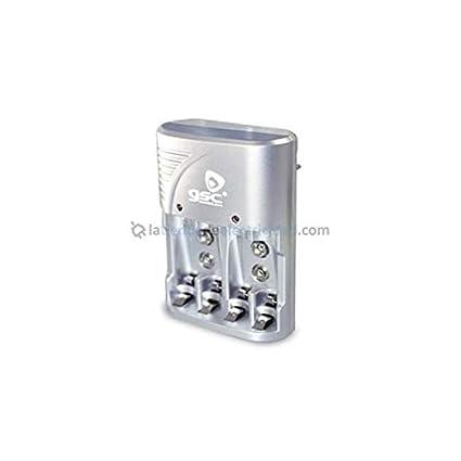 Cargador para pilas recargables AAA/AA 9V GSC 9000137 ...