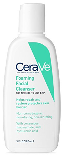 CeraVe Foaming Facial Cleanser, 3 fl oz