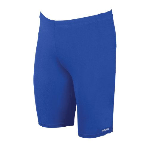 Arena Boys' Board Jr Race Polyester Solid Jammer Swimsuit - Royal/Metallic - Royal Blue Jammers