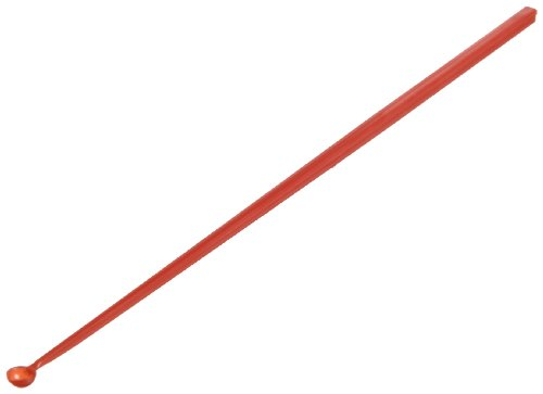 TWD TradeWinds ASPS-04 Disposable Antistatic Polypropylene Sample Transfer Scoop, 10-15 mg Capacity, Extra Large, Red (Pack of 100)