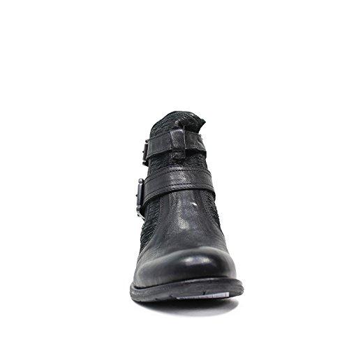Nero GiardiniMujer trozo de cuero en A616110D artículo 100 Negro Made in Italy Otoño Invierno 2016 2017