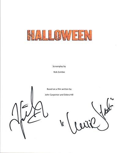 Scout Taylor-Compton Signed Autograph HALLOWEEN Movie Script Laurie Strode COA
