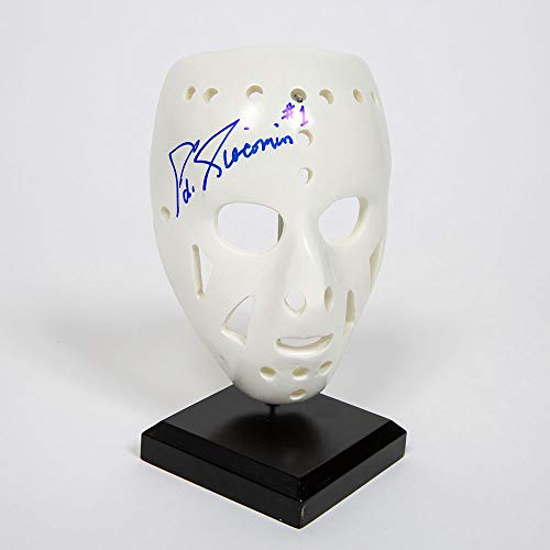 - Ed Giacomen New York Rangers Autographed Signed Mini Replica Goalie Mask - Certified Authentic