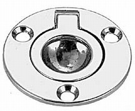 (PERKO (DP ITEMS) Flush Ring Pull Round Boating Deck Hardware)