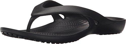 Crocs Women's Kadee ll W Flip-Flop, Black, 8 M US