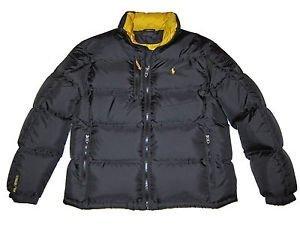 e46c38fdd78 Ralph Lauren RL250 Down Doudoune RRP £ 349-Noir-Taille L  Amazon.fr ...