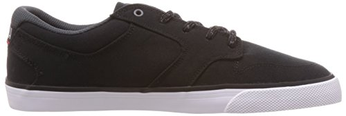 DC Shoes Nyjah Vulc Tx, Herren Sneaker, Black/White, 47 EU